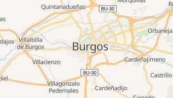 Mappa online di Burgos