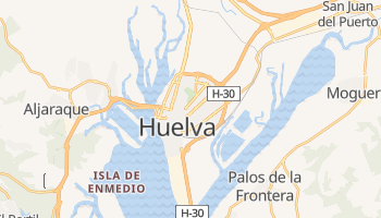 Mappa online di Huelva