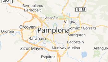 Mappa online di Pamplona