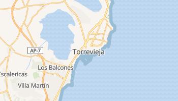 Mappa online di Torrevieja