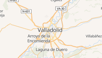 Mappa online di Valladolid