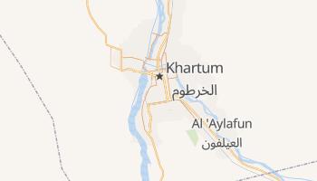 Mappa online di Khartum