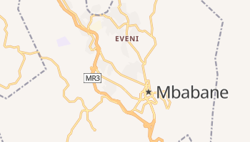Mappa online di Mbabane