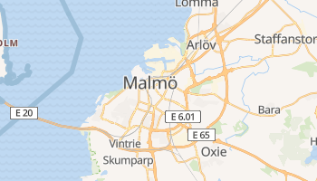 Mappa online di Malmö