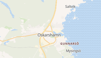 Mappa online di Oskarshamn