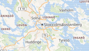 Mappa online di Stoccolma