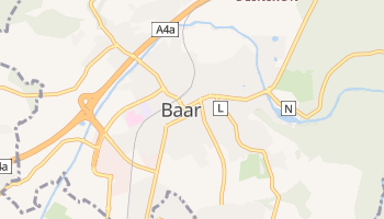 Mappa online di Baar