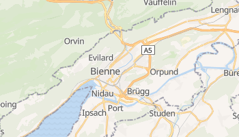 Mappa online di Bienne