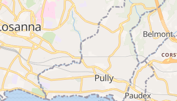 Mappa online di Pully