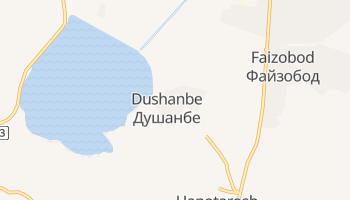 Mappa online di Dušhanbe