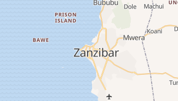 Mappa online di Zanzibar