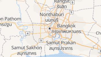 Mappa online di Bangkok