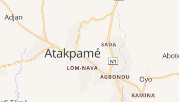 Mappa online di Atakpamé
