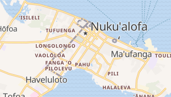 Mappa online di Nuku'alofa