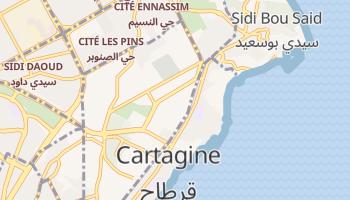 Mappa online di Cartagine