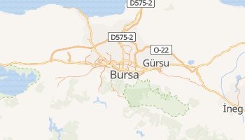 Mappa online di Bursa