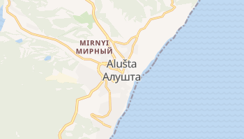 Mappa online di Alušta