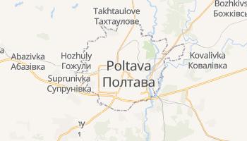 Mappa online di Poltava