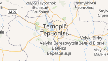 Mappa online di Ternopil'