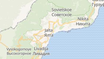 Mappa online di Jalta