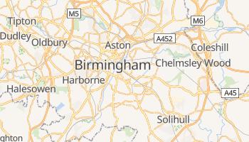 Mappa online di Birmingham