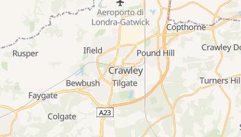 Mappa online di Crawley