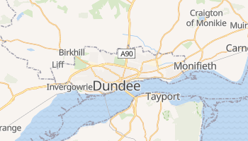 Mappa online di Dundee