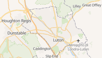Mappa online di Luton