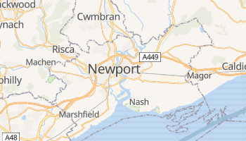 Mappa online di Newport