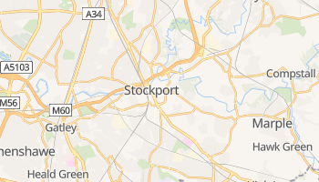 Mappa online di Stockport