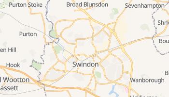 Mappa online di Swindon