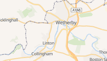 Mappa online di Wetherby