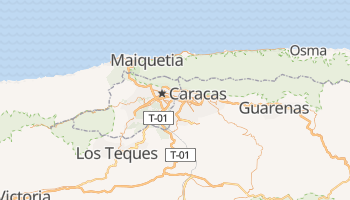 Mappa online di Caracas