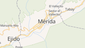 Mappa online di Mérida