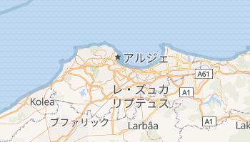 アルジェ の地図