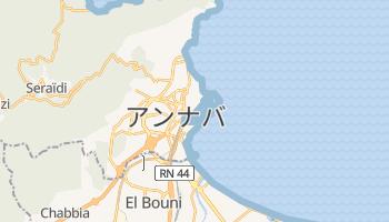 アンナバ の地図