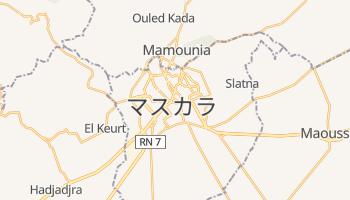 マスカラ の地図