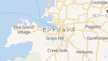 セントジョン の地図