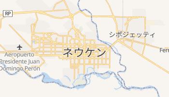 ネウケン の地図