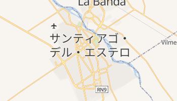 サンティアゴ・デル・エステロ の地図
