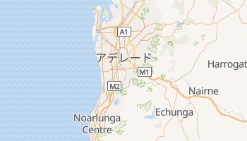 アデレード の地図