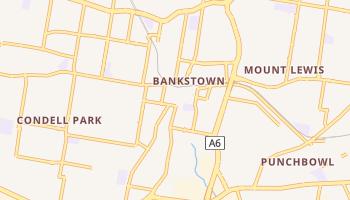 バンクスタウン の地図