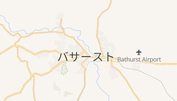 バサースト の地図