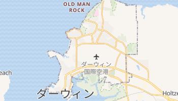 ダーウィン の地図