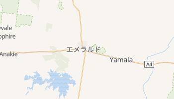 エメラルド の地図