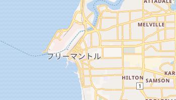 フリーマントル の地図