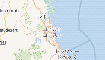 ゴールドコースト の地図
