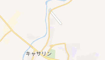キャサリン の地図