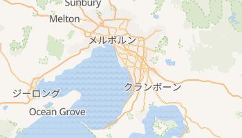 メルボルン の地図