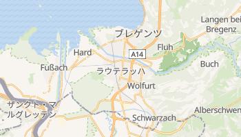 ブレゲンツ の地図